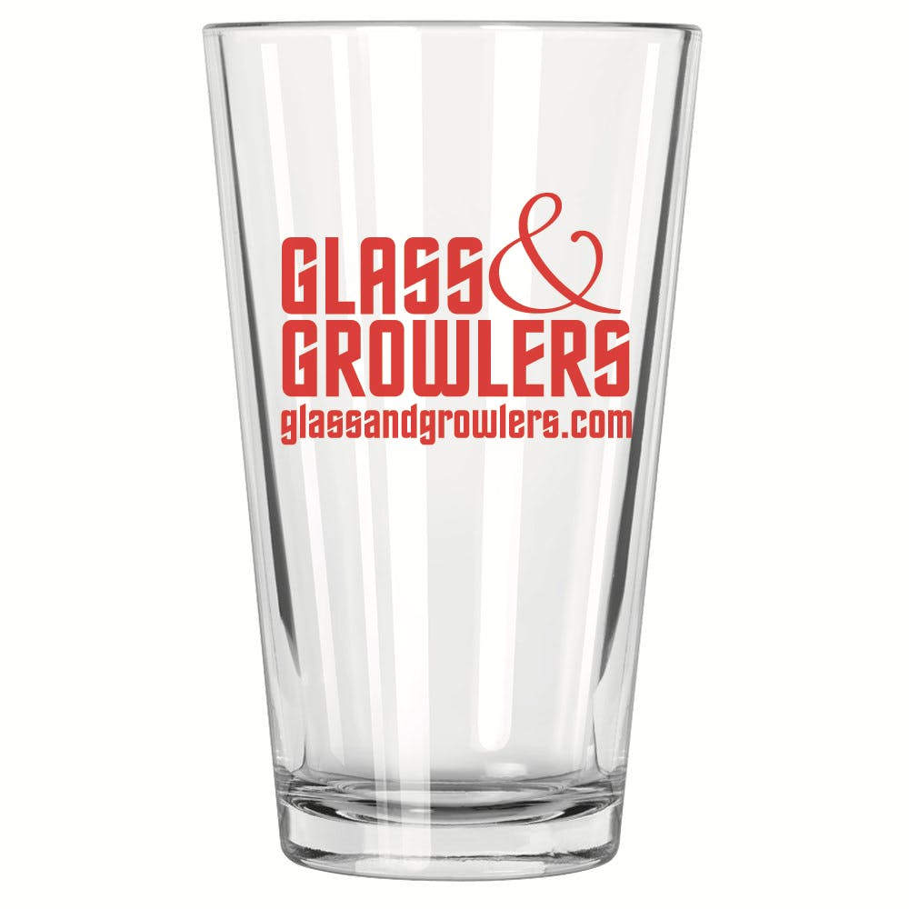 Mixing Glass Pint 16 oz Beer glass sold by Glass and Growlers