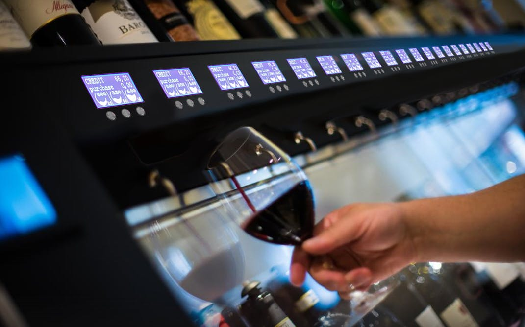 20 Bottle System and card reader Wine pub system sold by By The Glass