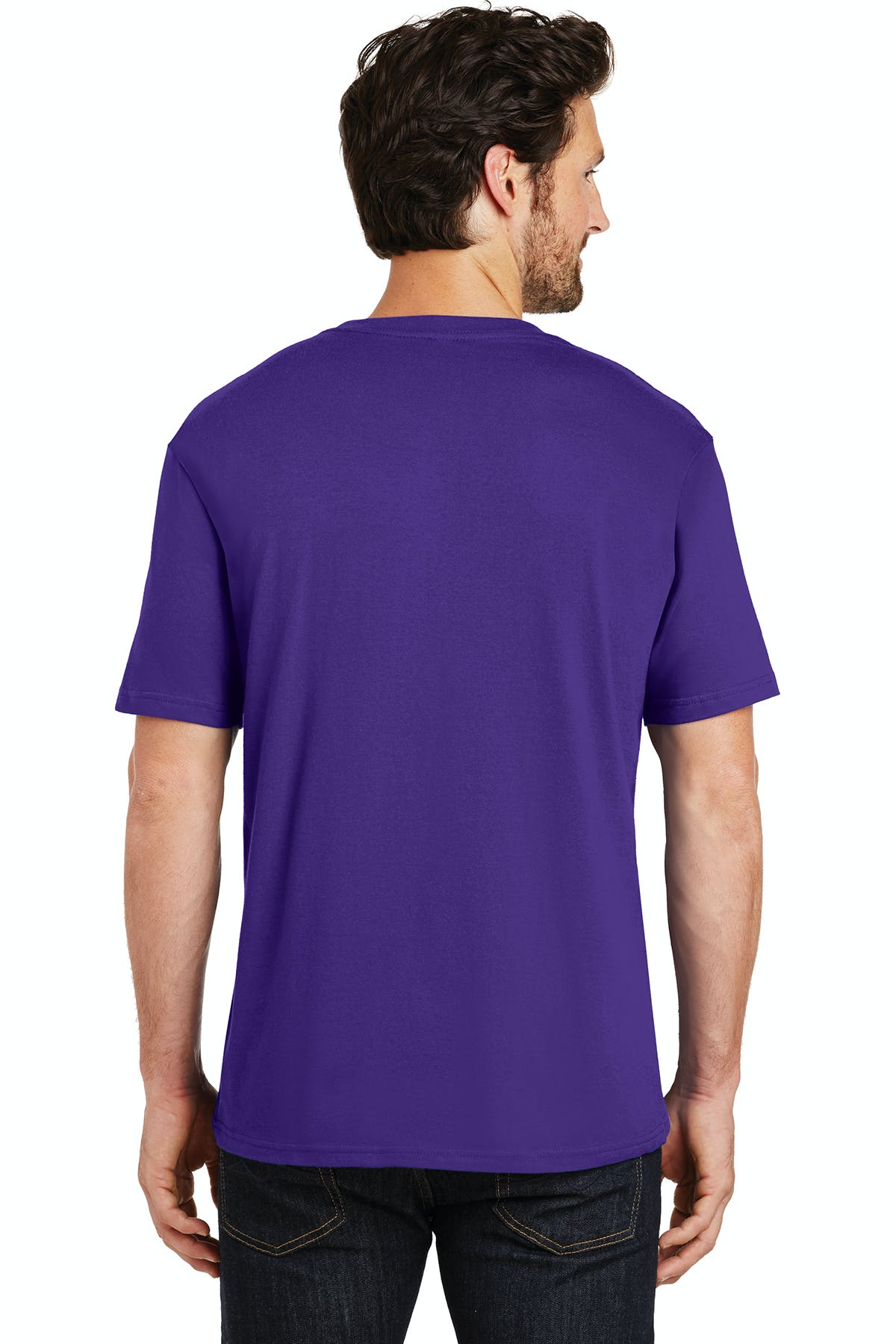 District Made® Mens Perfect Weight® Crew Tee - sold by PRINT CITY GRAPHICS, INC