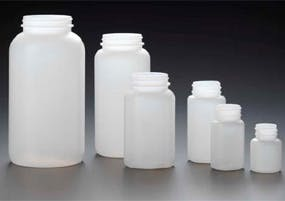 HDPE Wide Mouth Rounds Plastic bottle sold by Kaufman Container Company