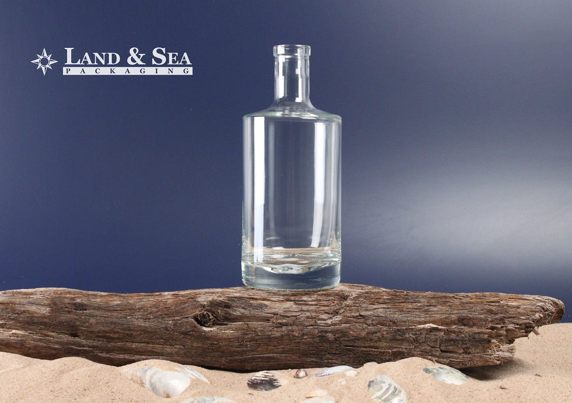 Jersey Spirit Bottle Liquor bottle sold by Land & Sea Packaging