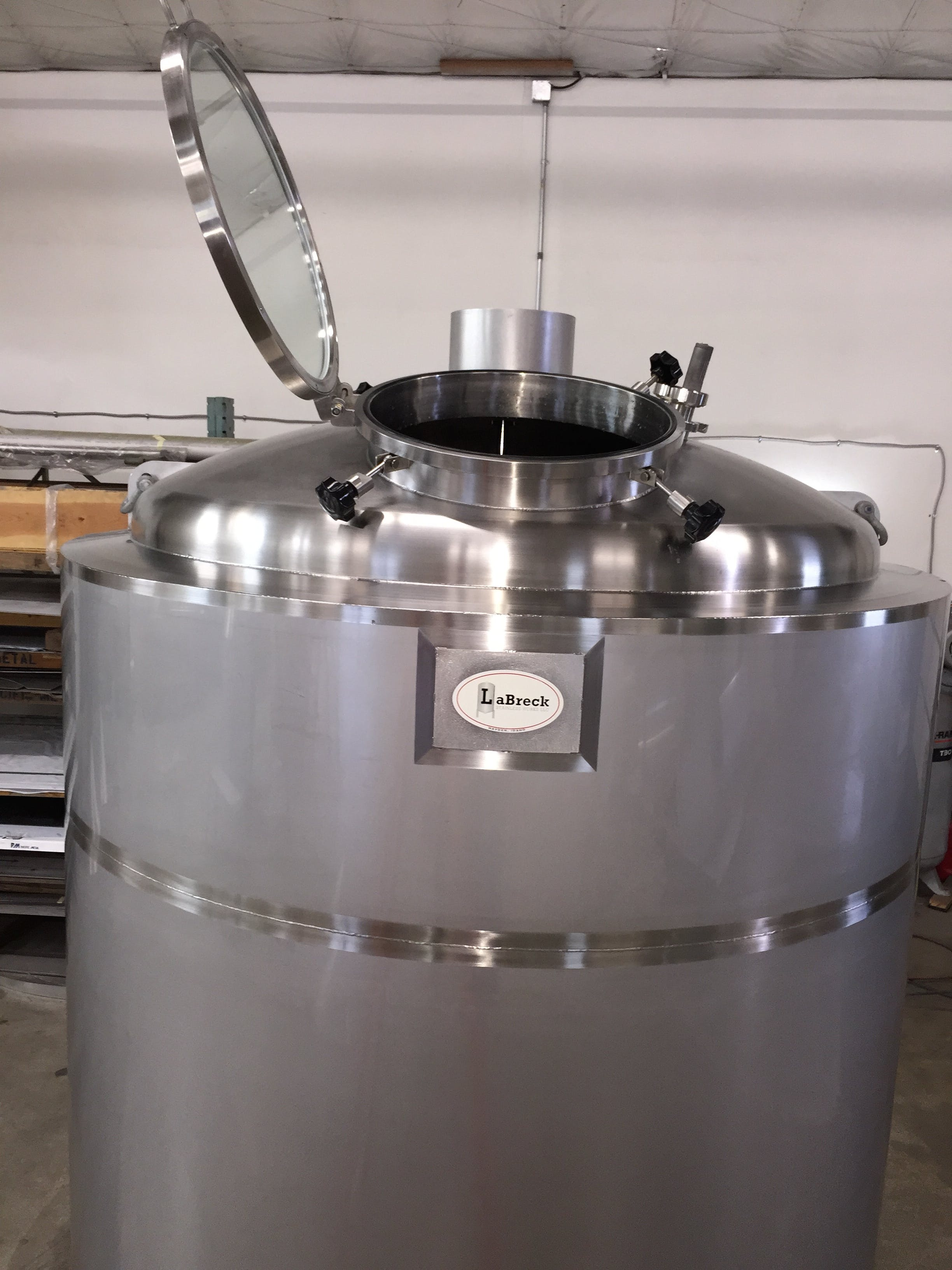 Kettles Kettle sold by LaBreck Stainless Works