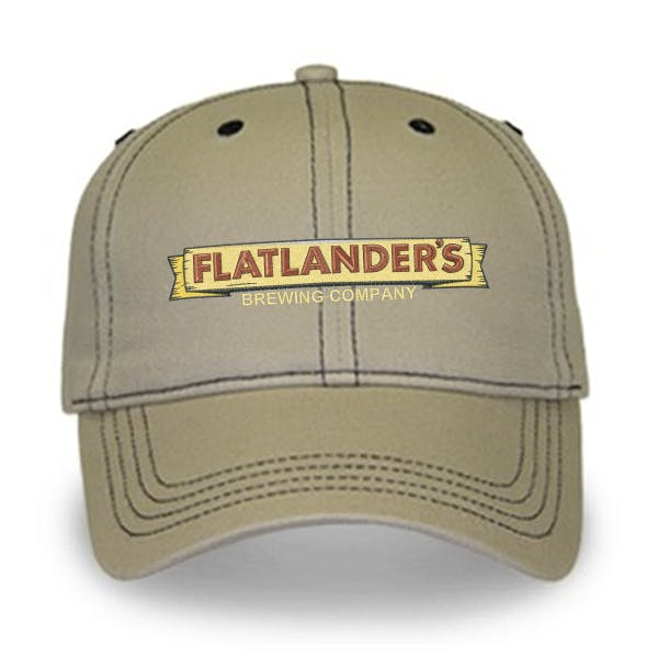 Contrasting Stitch Cap Promotional cap sold by MicrobrewMarketing.com