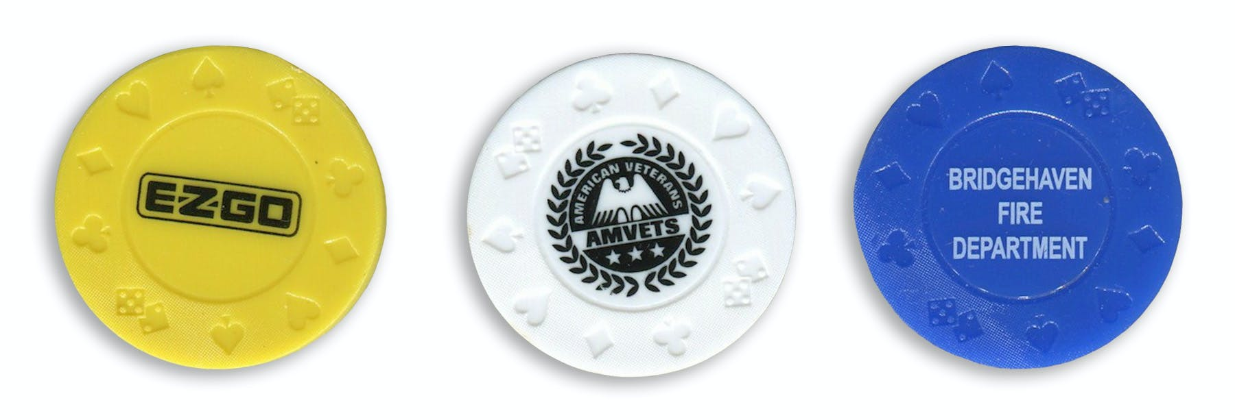 Plastic Tokens (Item # AEKJU-HNMJN) Promotional token sold by InkEasy