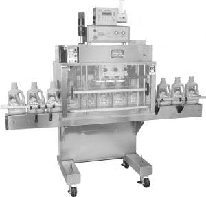 FA6 PORTABLE 6 SPINDLE CAP TIGHTENER Bottle capper sold by MSM Packaging Solutions