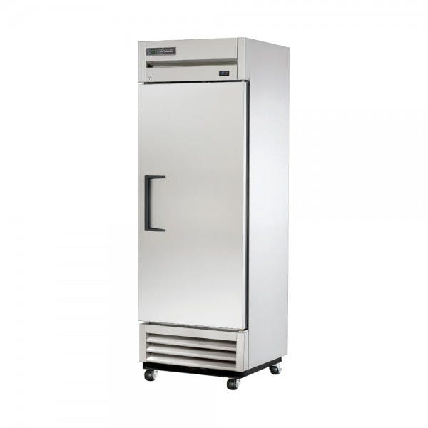 "27"" Stainless Single Door Reach-In Refrigerator"