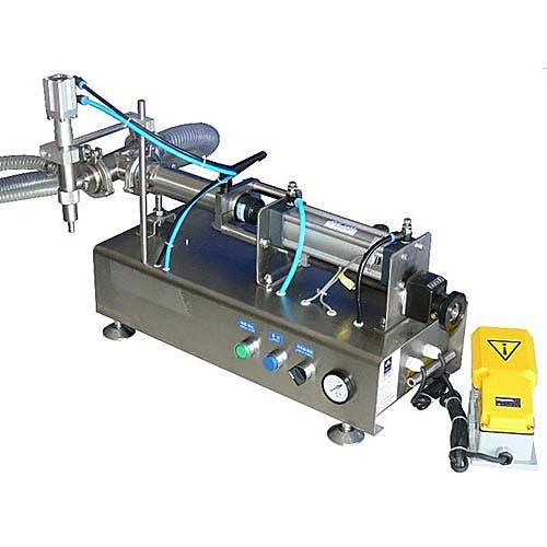 250 ml Low Viscosity Piston Fillers (30-250 ml Filling Range) Bottle filler sold by Freund Container & Supply