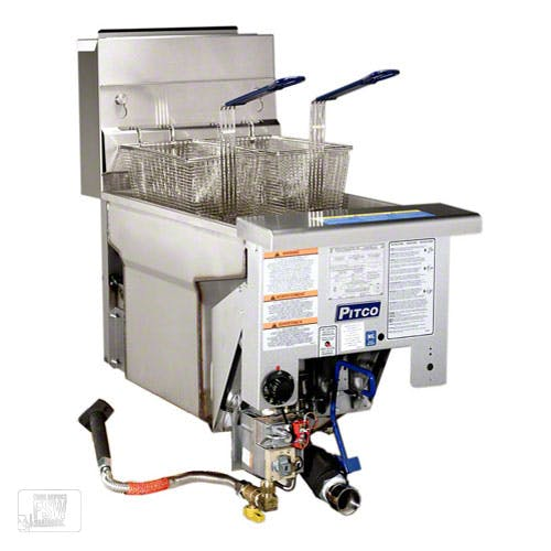 Pitco (SG14DI) - 50 Lb Gas Drop-in Fryer Commercial fryer sold by Food Service Warehouse