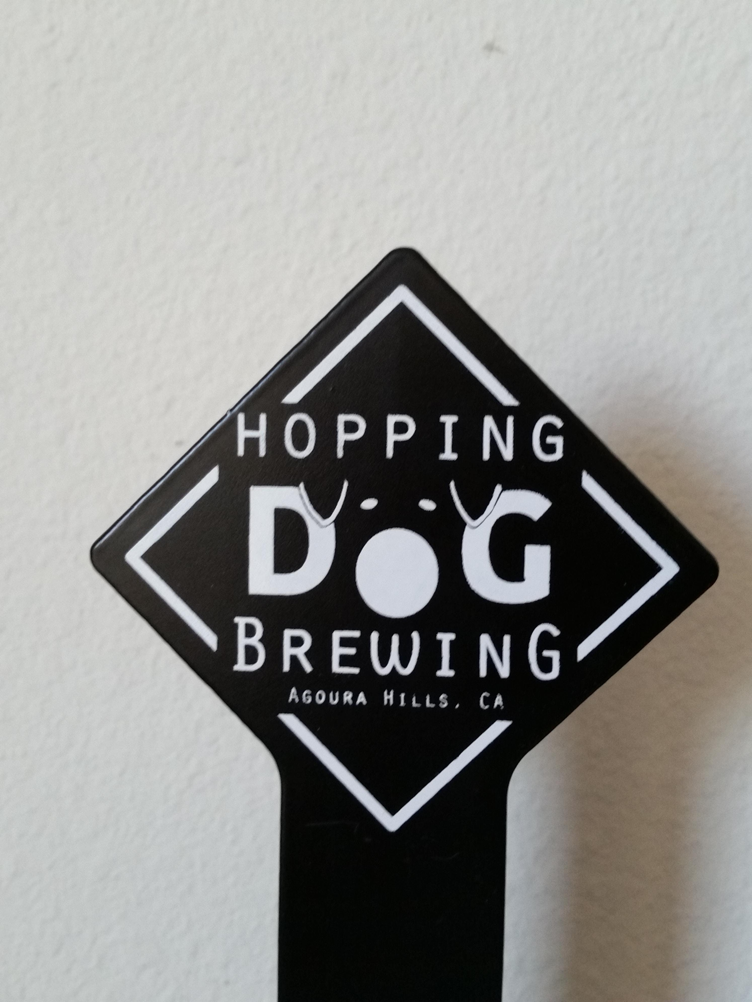Tap Handles for Hopping Dog BRewing Co. Agoura Hills, Ca. - Aluminum Tap Handles - sold by Brewlicious Beer