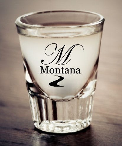 2.5 Ounce American Made Libbey Shot Glass Beer glass sold by Montana Glassworks