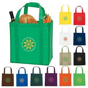 "5""wide x 9"" high Grocery Bags - varitey of bag options - sold by Dechan, Inc. II"