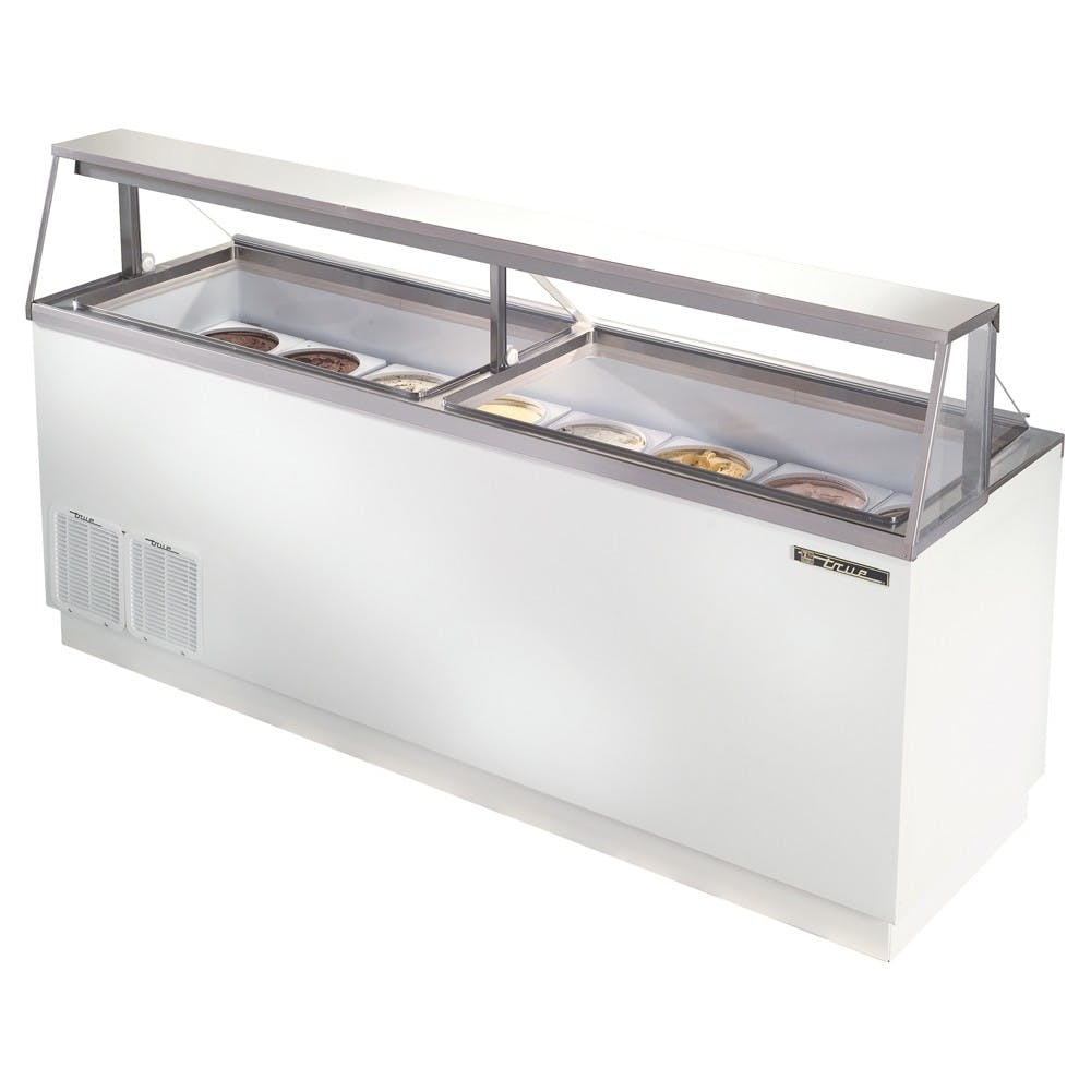 True Manufacturing TDC-87 Ice Cream Dipping Cabinet, Displays 16 ea. 3 Gallon Cans Ice cream dipping cabinet sold by Mission Restaurant Supply