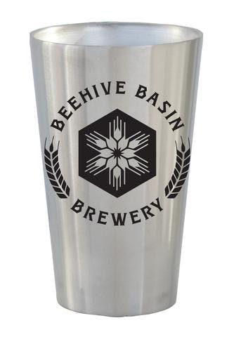 19 OZ. STAINLESS DOUBLE WALL PINT #88-DW Beer glass sold by Clearwater Gear