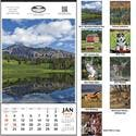 Norwood Promotional Products :: Product :: Vertical Hanger without Dateblocks - Custom calendar sold by Distrimatics, USA