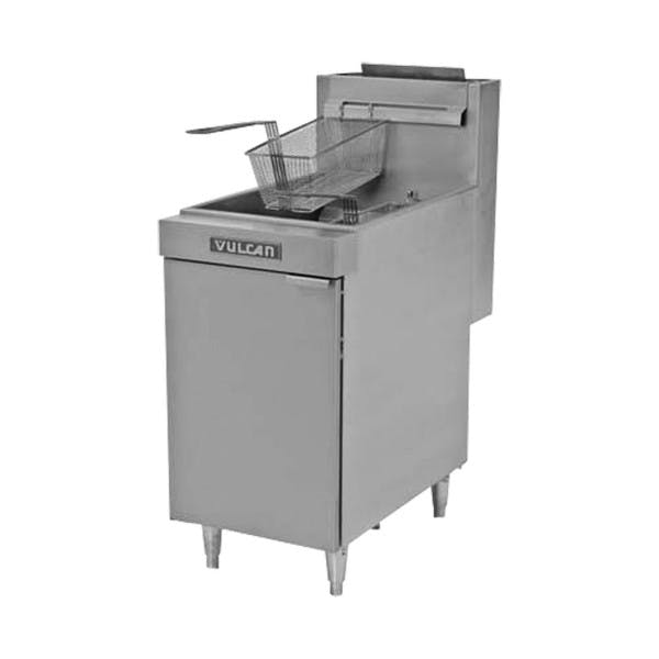 65-70 lbs. Freestanding NG Fryer