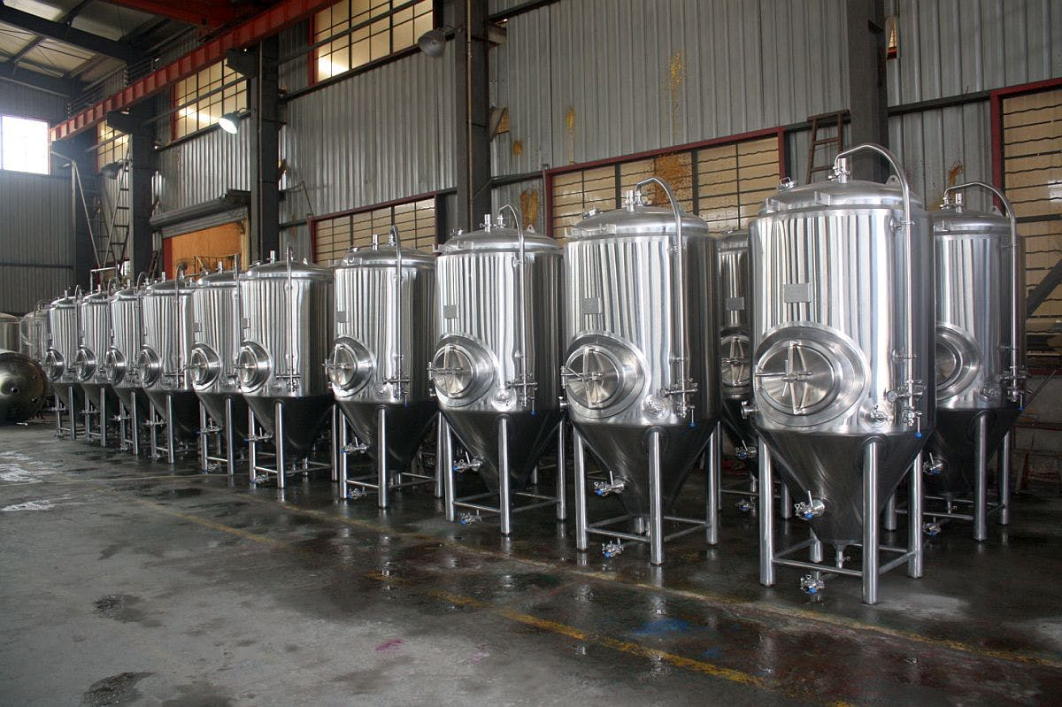 7 bbl Fermenters Fermenter sold by Ager Tank & Equipment Co.
