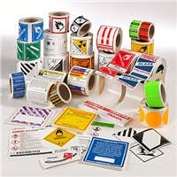 Labels Label sold by Robinson Tape & Label Inc., South