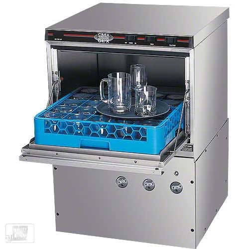 CMA Dishmachines - GL-X2 30 Rack/Hr Undercounter Glasswasher Commercial dishwasher sold by Food Service Warehouse