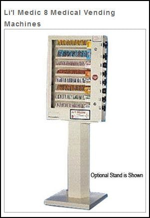 (8) Selection Medical Packet Vending Machine