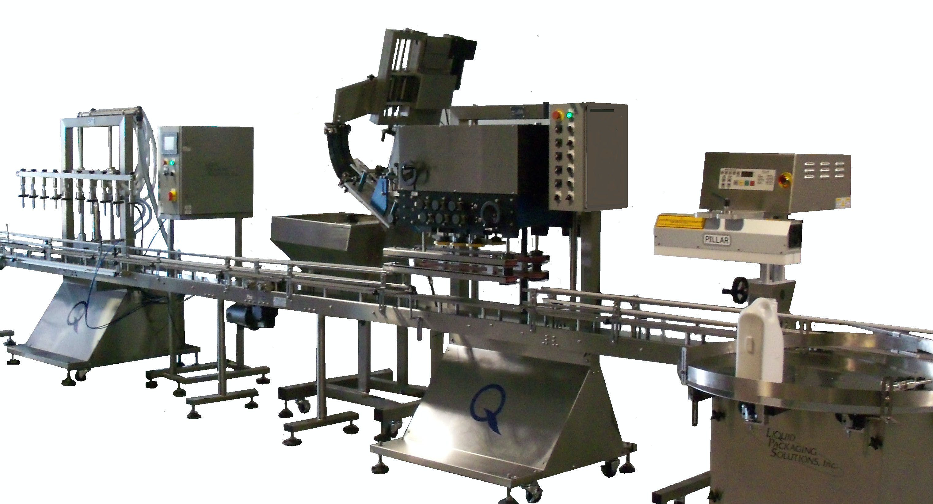Complete Turnkey Packaging Solutions - sold by Liquid Packaging Solutions