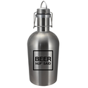 1/2 Gallon Stainless Steel Growler - Growler sold by G2 I.D. Source