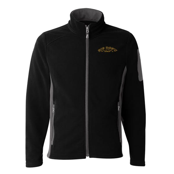COClothing Colorblocked Full Zip Microfleece Jacke Promotional apparel sold by MicrobrewMarketing.com