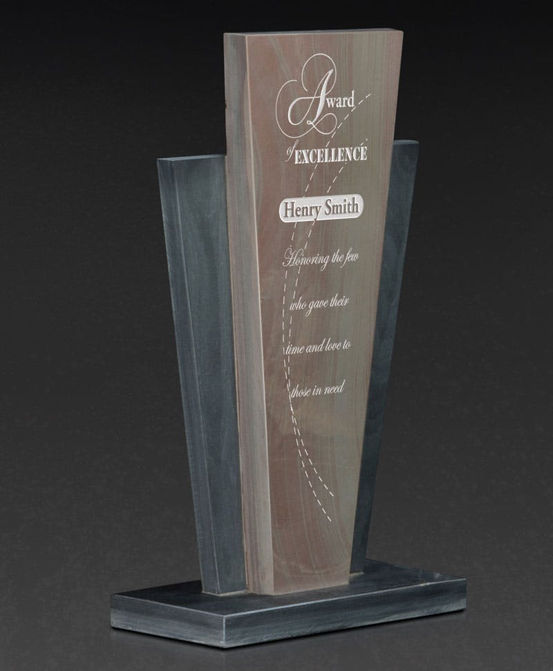 Resurgence 11 Slate award Award sold by Distrimatics, USA