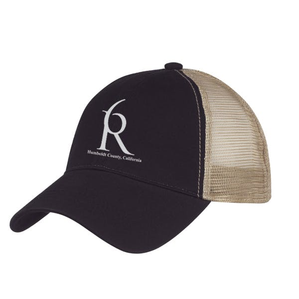 Washed Cotton Mesh Back Cap Promotional cap sold by MicrobrewMarketing.com