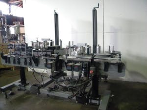 Label Aire front/back p/s labeler Bottle labeler sold by Ager Tank & Equipment Co.