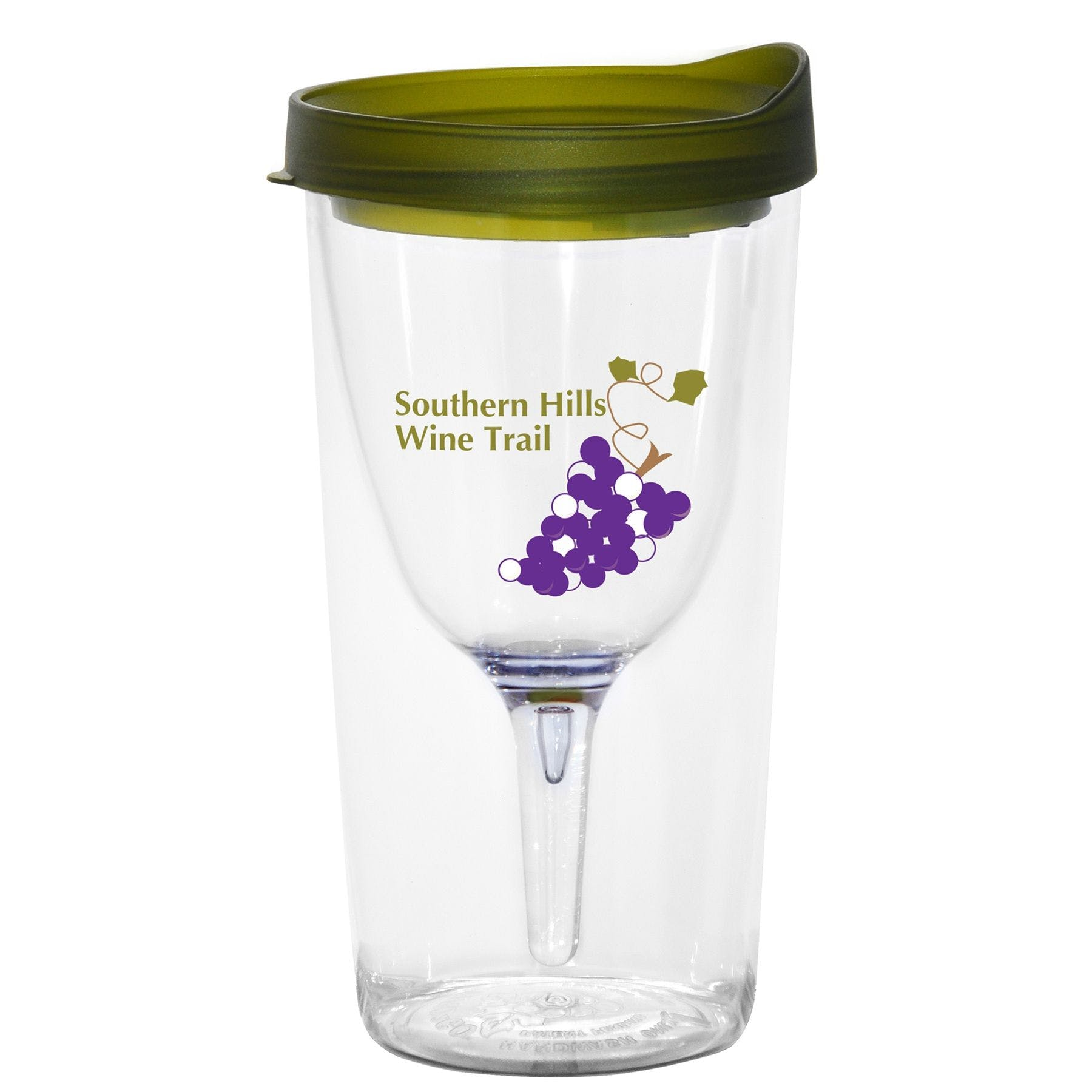 Vino2Go™ Wine Glass Tumbler Wine glass sold by Ink Splash Promos, LLC