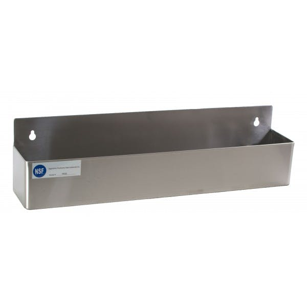 "22"" Stainless Single-Tier Speed Rail"