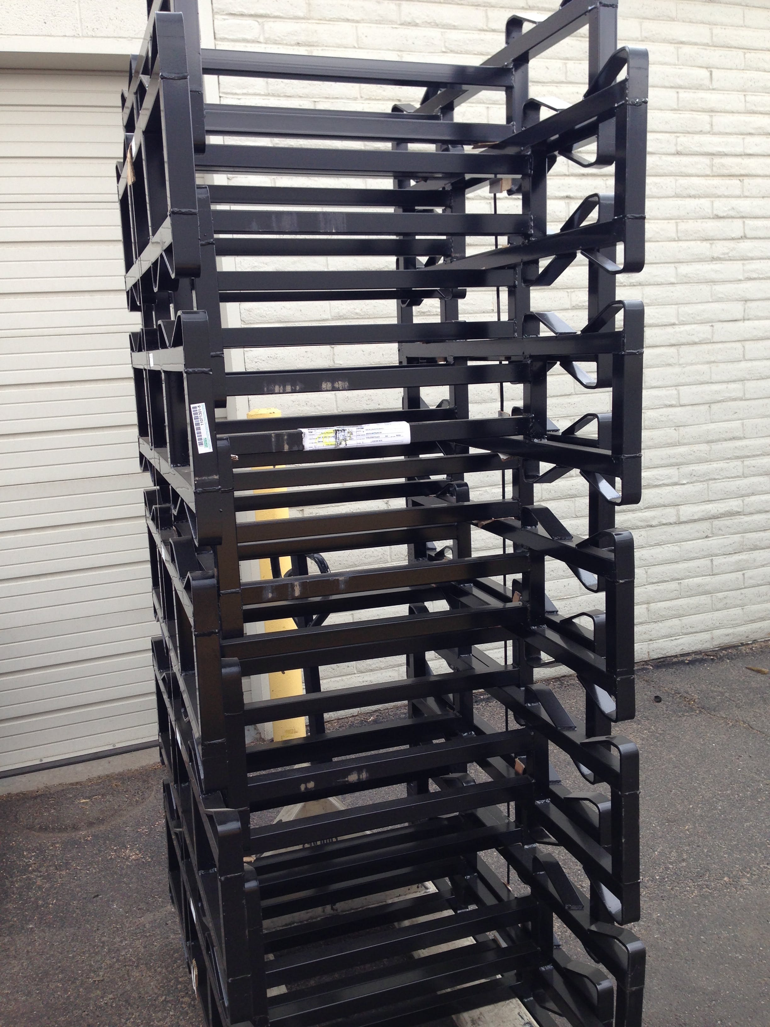 Barrel racks Barrel rack sold by Rocky Mountain Barrel Company