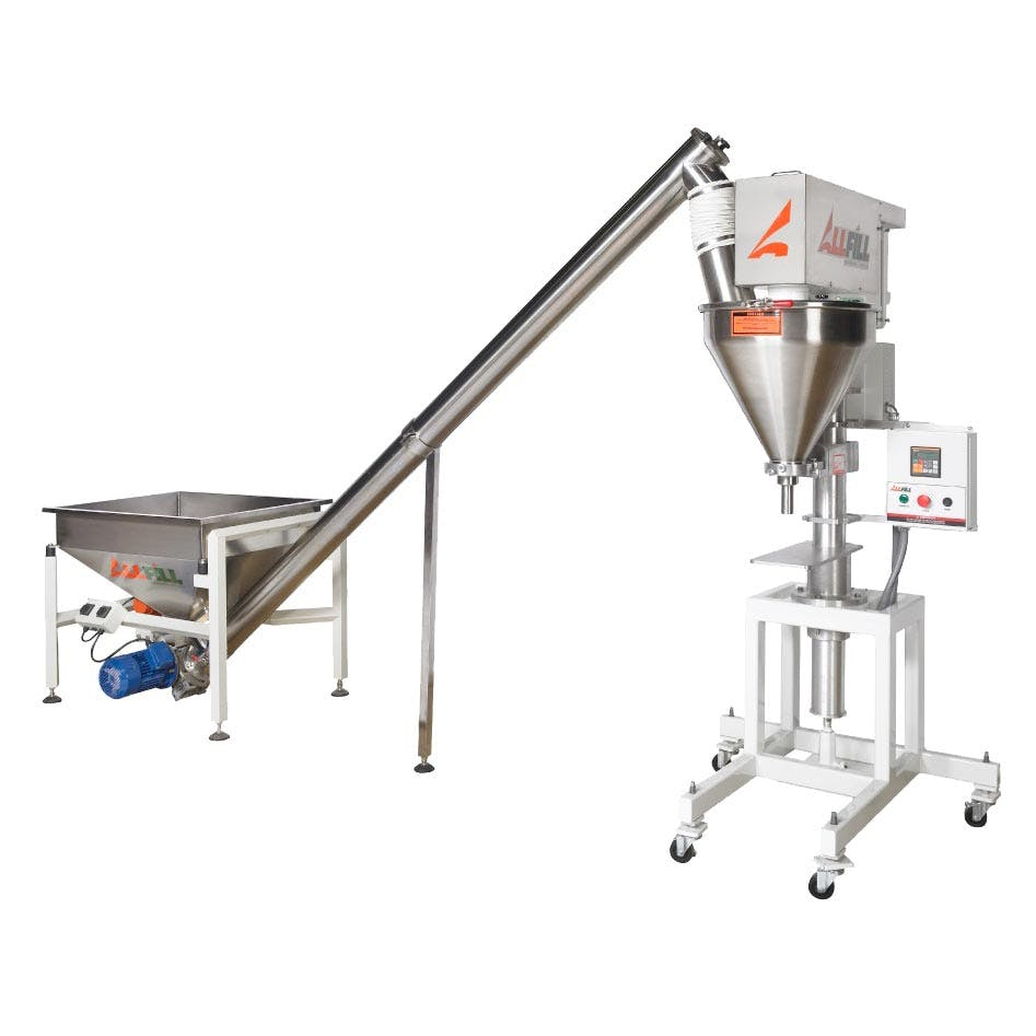 All-Fill Model B-350e Semi-Auto Auger Filler with ISC Feeder - All-Fill Auger Filling Systems - Model B350e - Semi-Automatic - sold by Package Devices LLC