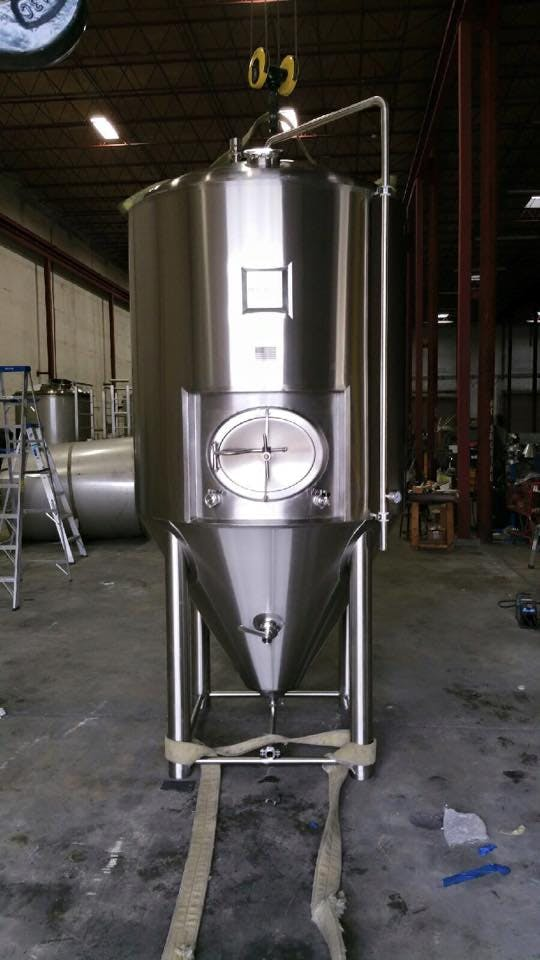 20 BBL Fermenters Fermenter sold by BrewFab LLC