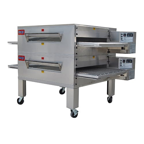 EDGE 60 WB Series Double-Stack Gas Conveyor Pizza Oven Pizza oven sold by Pizza Solutions