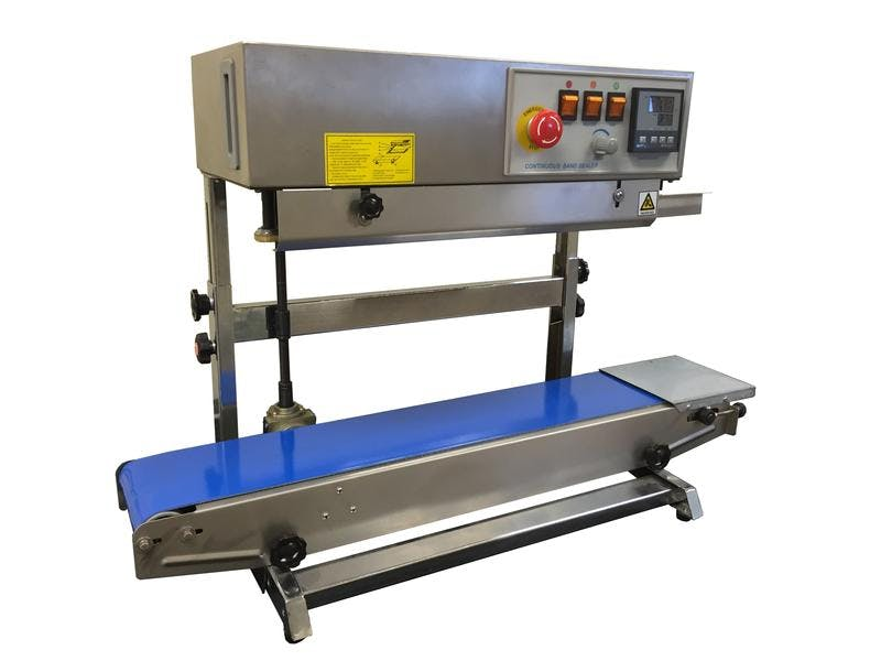 CBS-880II Vertical Stainless Steel Band Sealer Bag sealer sold by Sealer Sales