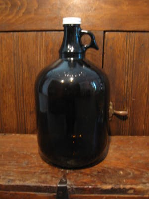 128 oz. Amber Growler Growler sold by Promotional Concepts of Wisconsin