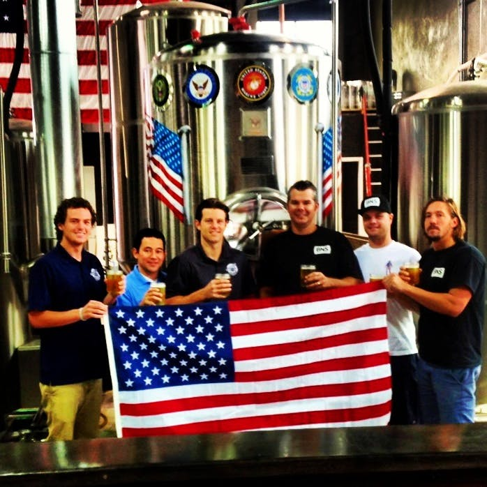 15 BBL USA made Fermenter - Dedicated to the US Military  Brewery tank sold by Marks Design and Metalworks