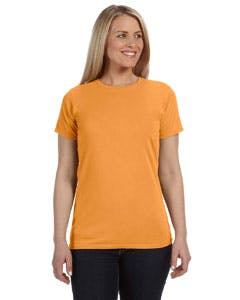 C4200 Comfort Colors Ladies' 4.8 oz. Ringspun Garment-Dyed T-Shirt Promotional shirt sold by Lee Marketing Group