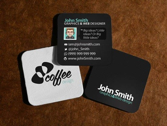 """2"""" X 2"""" BUSINESS CARDS - sold by Meilestone"""