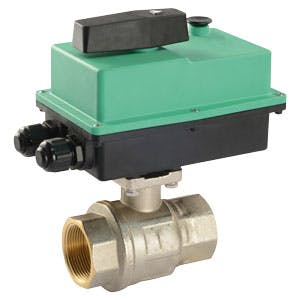 Premium Actuated Ball Valve Valve sold by ControlTec, Inc