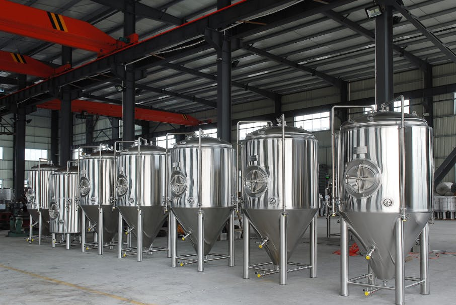 7BBL Fermenters Fermenter sold by TD Tanks, LLC