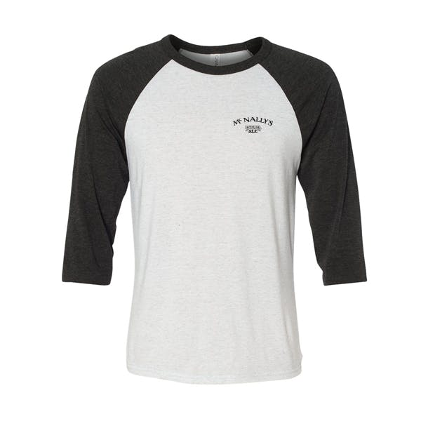 Bella Canvas Unisex 3 Quarter Sleeve Baseball Tee Promotional shirt sold by MicrobrewMarketing.com