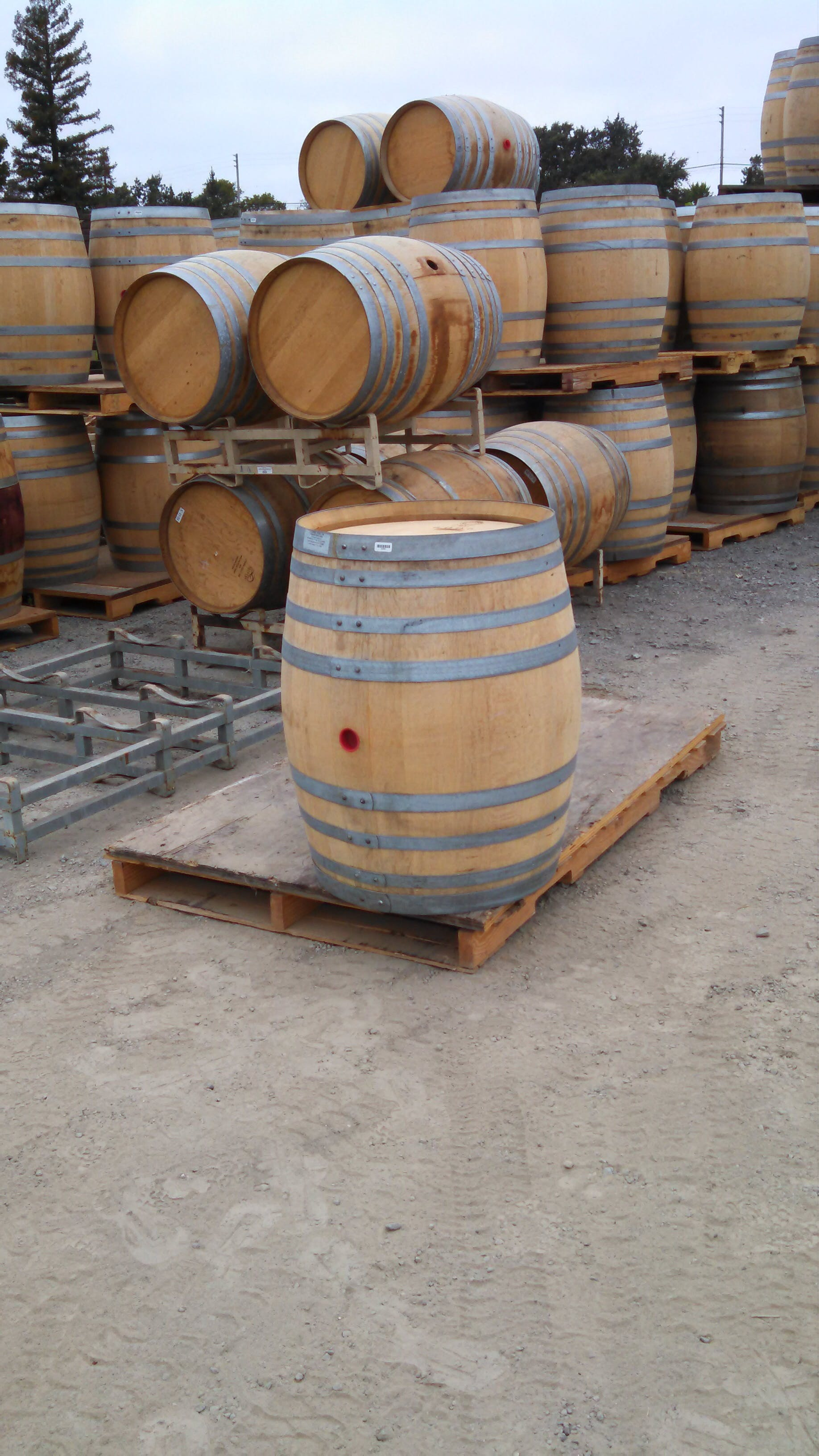 French Oak Barrel sold by Napa Valley Barrels