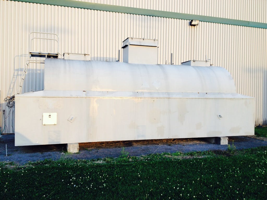 Jacketed Exterior Tank - 5790 Imperial Gallons Holding tank sold by Aevos Equipment