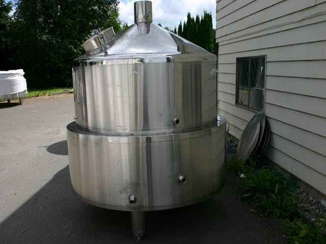 15 Barrel Brewing System – Domes Direct Fired. Brewhouse sold by BC Packaging Service Brew-Stuff