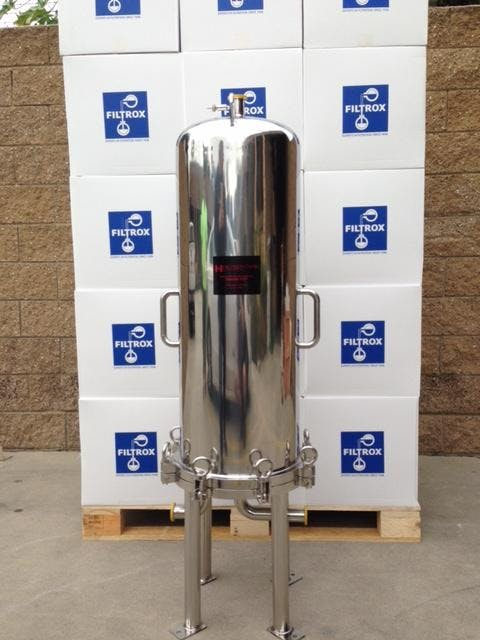 HSI Wine filtration sold by Heyes Filters Inc.