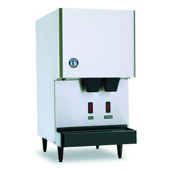 Hoshizaki DCM-270BAH-OS 288 Lb Opti-Serve Cubelet Ice and Water Dispenser, 8.8 Lb Storage, Air Cooled