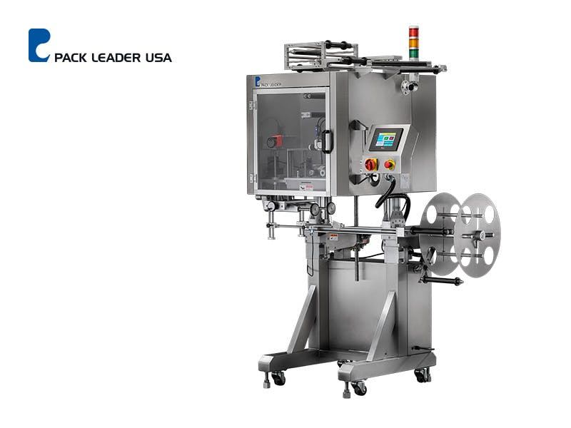 SL-10 Picture - SL-10 Shrink Sleeve Labeling Machine - sold by Pack Leader USA, LLC