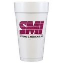 20 oz. Custom Disposable Foam Cups - Disposable cup sold by Cup of Arms